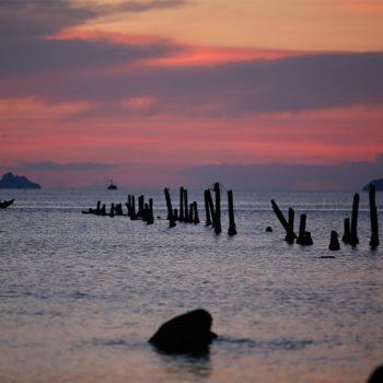 Sunset at Thailand